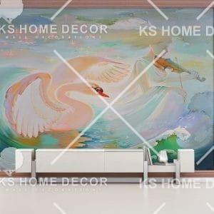 oil painting wallpaper